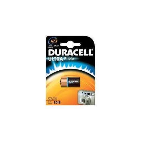 Batteria 123 lithium 3V DURACELL ULTRAphoto
