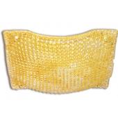 plafoniera DORA cristallo ambra padana