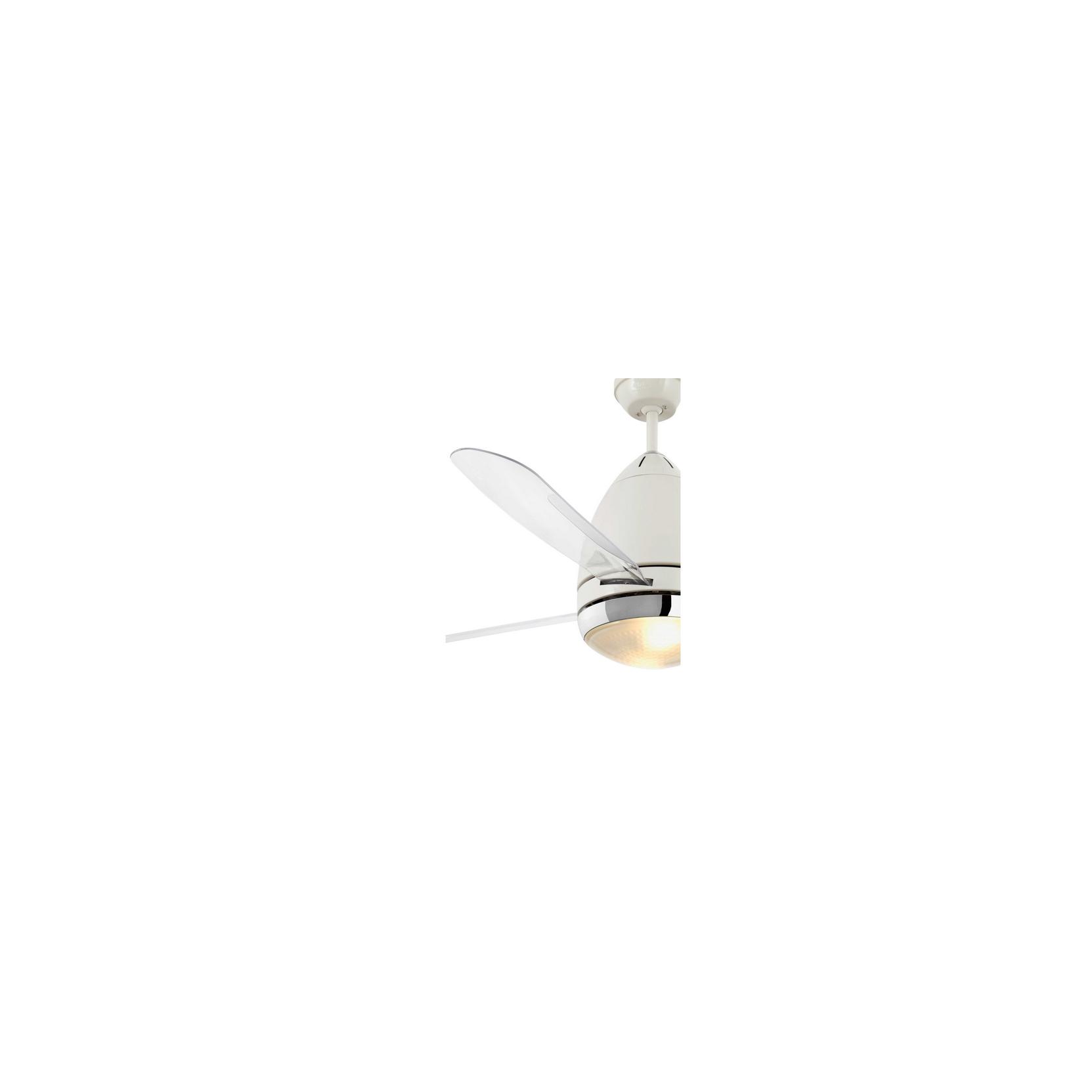 Vespa bianco 33389 pale trasparenti - Ventilatore da soffitto design ...