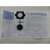 SACCO in CARTA  per BIDONE ASPIRATUTTO GISOWATT PC20 e PC22