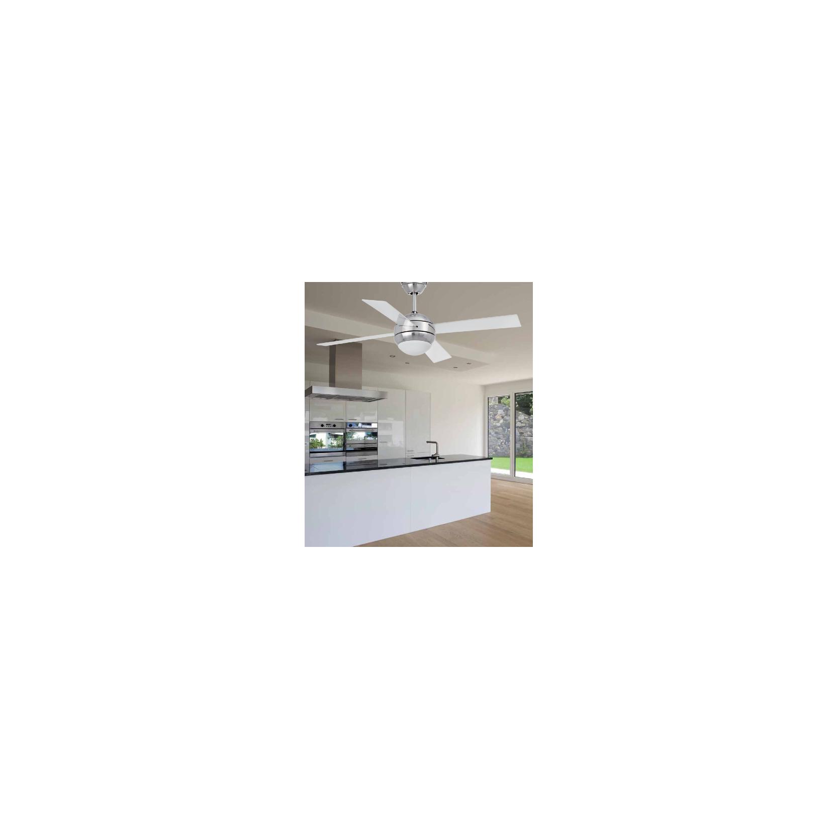 Ventilatore moderno 4 pale silenzioso moderno for Ventilatore da soffitto silenzioso
