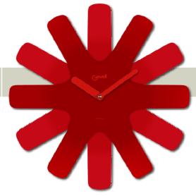Orologio da parete Iin Metallo curvato STELLA 05840