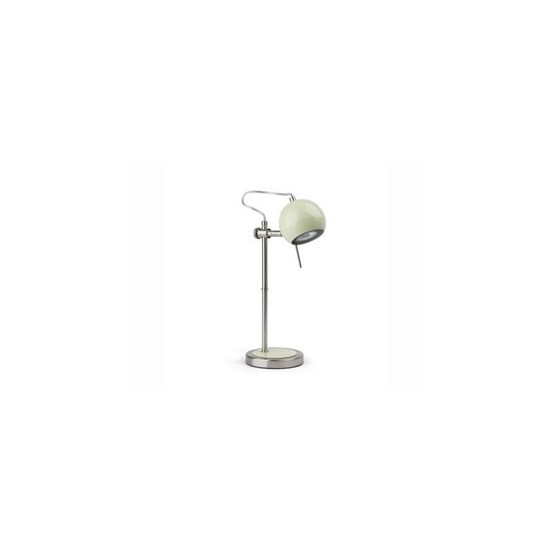 Lampada da tavolo comodino abat jour colore verde pastello for Lumetti da comodino