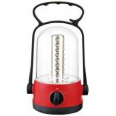 Torcia a Lanterna 32 led ricaricabile con funzione emergenza CAMPING LED 360°
