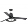 VENTILATORE DA SOFFITTO CON LUCE MARRONE 3 PALE  FARO WINCH