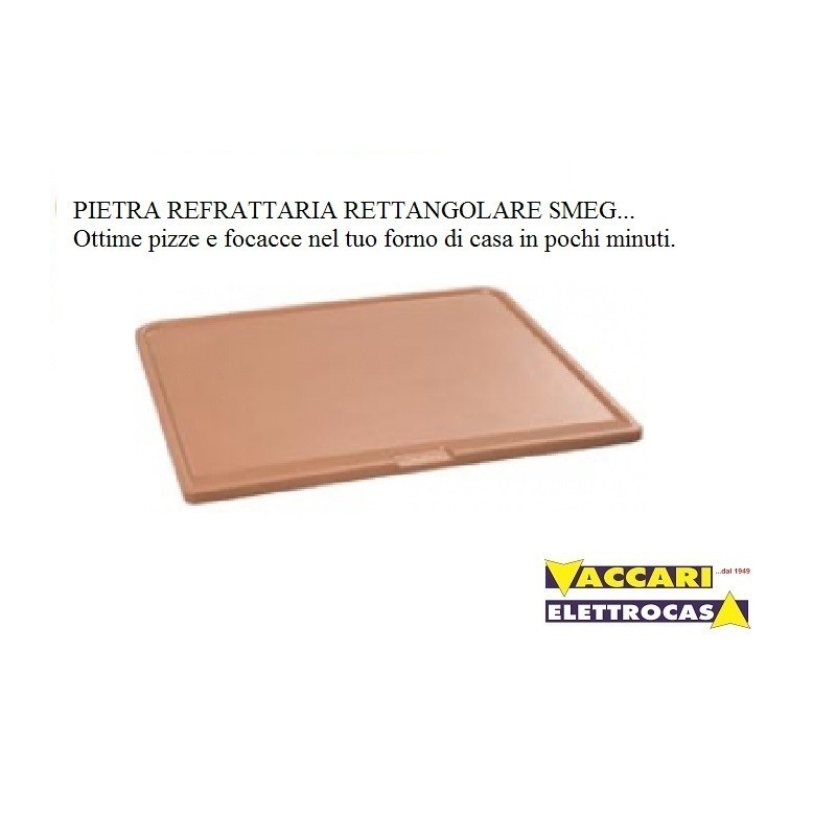 Pietra refrattaria rettangolare cottura pizza in forno di - Forno con pietra refrattaria ...
