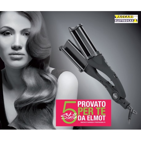 ONDULATORE PROFESSIONALE in Ceramica per ONDE VOLUMINOSE ELMOT 037 WAVE