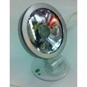 FARO LED RJB EFFETTI LUCE MULTICOLOR ultra slim super luminoso 9W con telecomando MELCHIONI