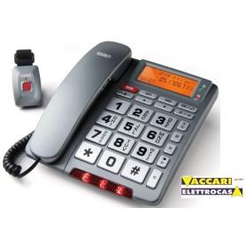 Telefono per anziani FAMILY TELE SOS chiamata di SOCCORSO con TELECOMANDO