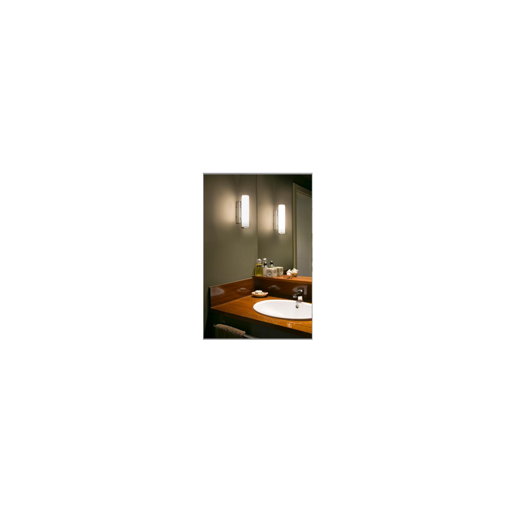 Lampada da parete applique per bagno luce a led cromo vaccarielettrocasa s n c di vaccari - Lampade da bagno a parete ...
