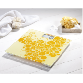 Bilancia pesapersone digitale super sottile SOEHNLE PINO LIMITED EDITION colore giallo
