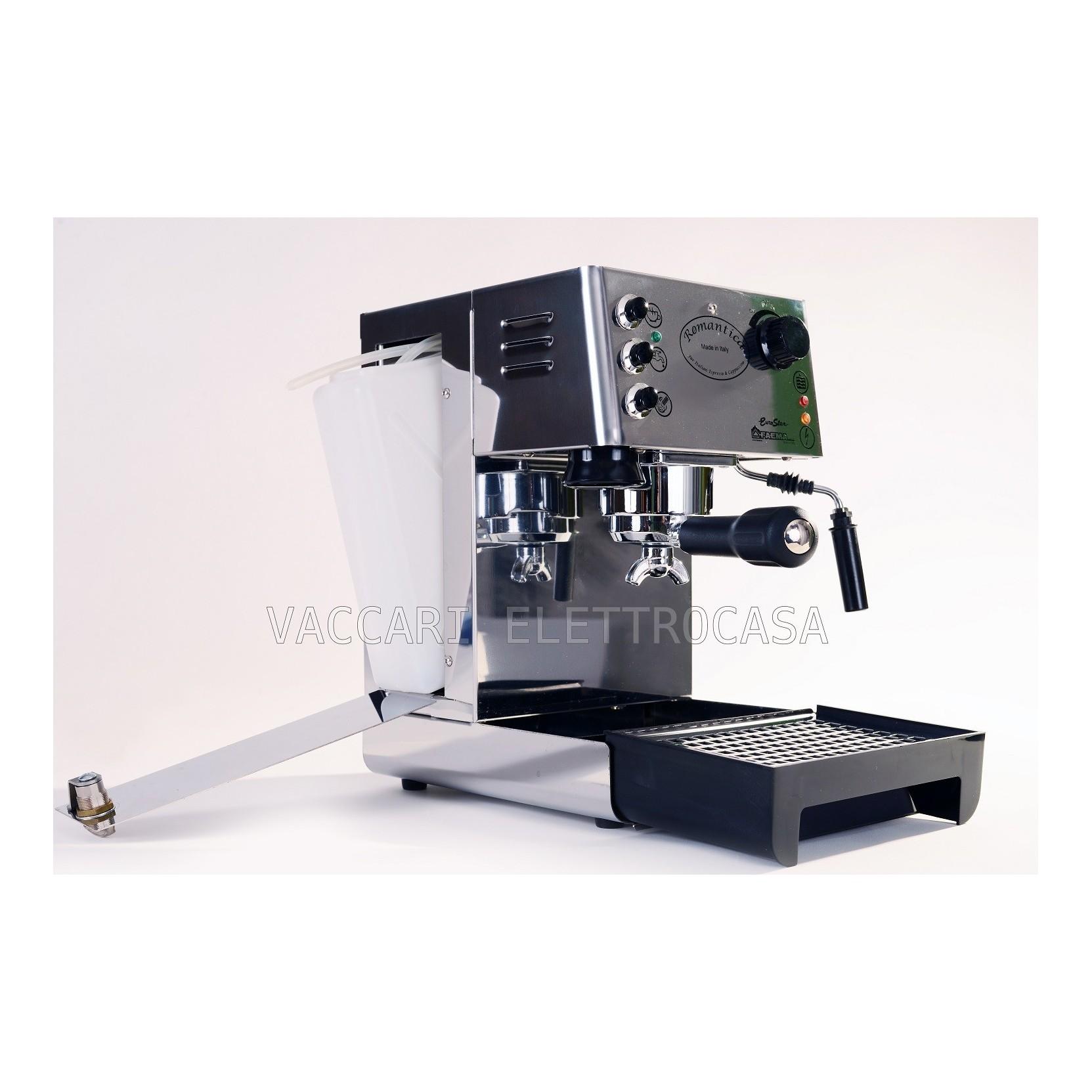 Macchina caff espresso tradizionale faema romantica vero - Macchina caffe professionale per casa ...