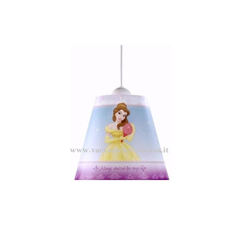 """LAMPADARIO a sospensione """"Princess"""" DISNEY"""