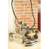 Ferro da stiro con caldaia professionale  mod.4 MB  2 litri M.B. inox