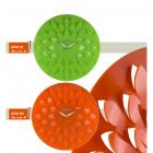 Orologio da parete moderno con petali nel quadrante diametro cm 45