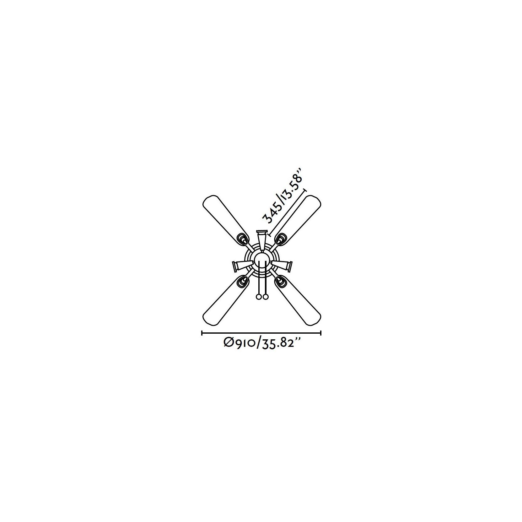 Ventilatore soffitto con luce moderno con faretti faro - Ventilatore da soffitto design ...