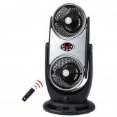 CFG DUO Ventilatore doppia azione con turbina ciclonica e ionizzatore d'aria con telecomando