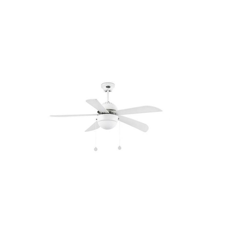 Ventilatore soffitto con luce 5 pale FARO VENETO 33318