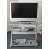 Carrello porta Tv TECNIDEA REPLEY R62 SILVER