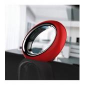 Telefono Cordless a forma Circolare rosso ECLIPSE 10 AEG