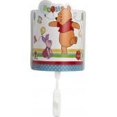 Punto luce notturno a LED da fissare a parete Winnie the Pooh