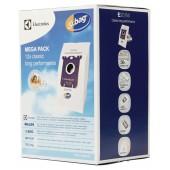 Sacchetti aspirapolvere CLASSIC MEGA PACK confezione da 12. Per ELECTROLUX, PHILIPS, TORNADO, AEG, VOLTA