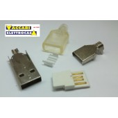 spina usb da montare USB-SPINA TYP A SALDABILE