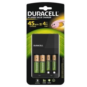 Caricatore DURACELL x 2 batterie AA e 2 batterie AAA Confezione con batterie in dotazione