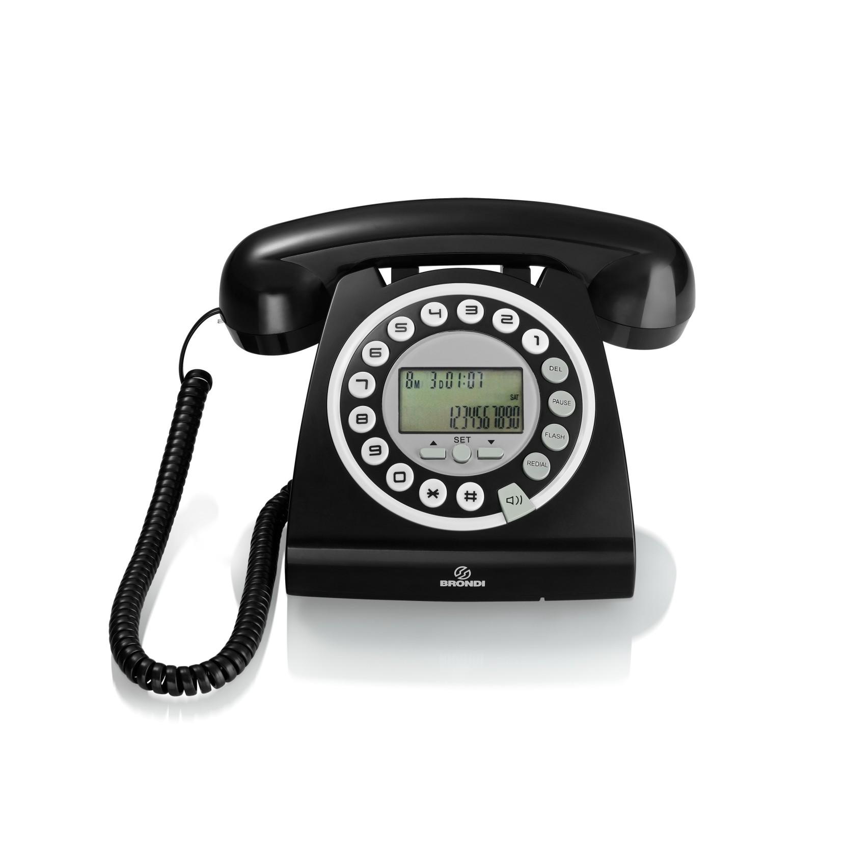 Telefono hallo brondi in offerta speciale - Telefono fisso design ...
