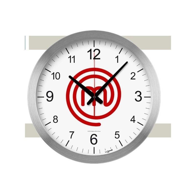 orologio masterchef parete inox diametro 40cm