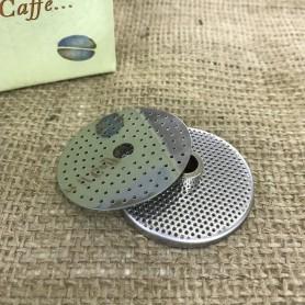 Coppia filtro caffè per moka elettrica VELOX 2 tazze