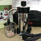 Caffettiera  da Viaggio moka Velox Piccola 2 tazze colore nero Voltaggio 110V/220V VELOX 9003