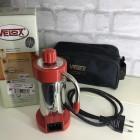 Caffettiera  da Viaggio rossa moka Velox Piccola 2 tazze Voltaggio 110V/220V