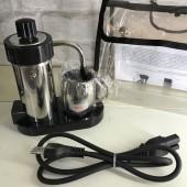 CAFFETTIERA ELETTRICA DA VIAGGIO VELOX  2 tazze, colore nero, 110/240V 9004