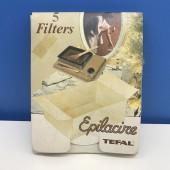 Filtri usa e getta EPILACIRE TEFAL (confezione da 5 filtri)