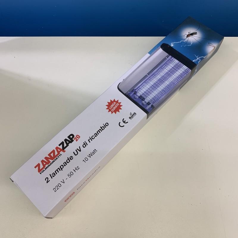 Confezione 2 lampade attiniche ricambio per E309 ZANZAZAP20 10W