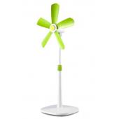 Ventilatore a piantana senza griglia h cm105 , pale plastica a trascinamento magnetico EV070