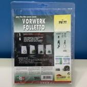 Sacchetti per aspirapolvere VORWERK FOLLETTO Kobold VK140, VK141, VK150