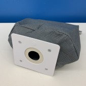 Sacchetto per aspirapolvere tessuto grigio, apribile SCHAUB LORENZ 2200 SAC