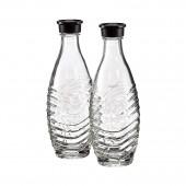 Set di 2 bottiglie in vetro per modelli CRYSTAL e PENGUIN SODASTREAM