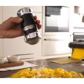 Dispenser per farine, zucchero e cacao Spargi farina NERO MARCATO