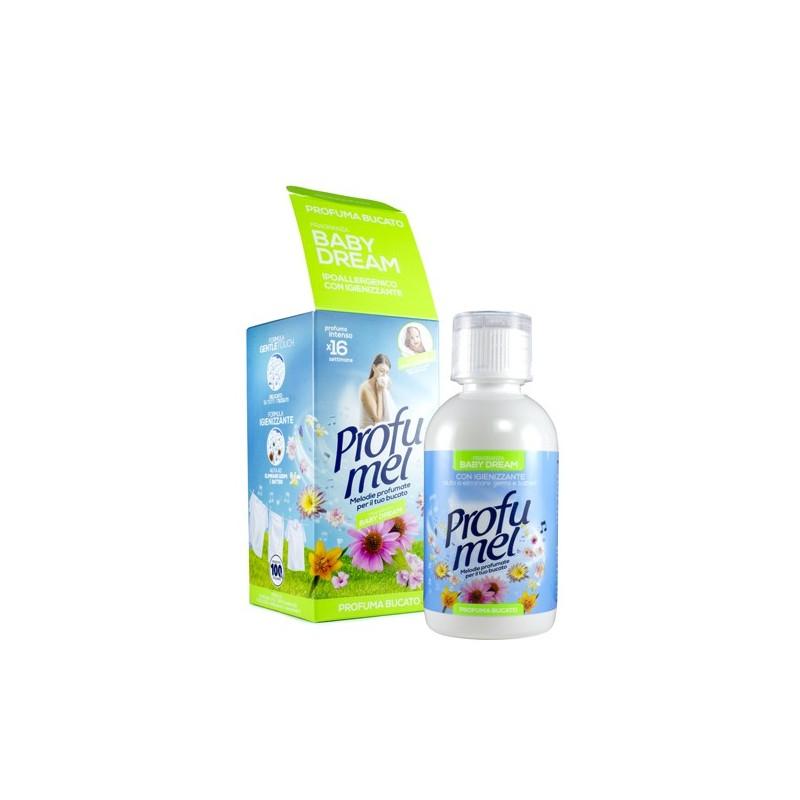 Profuma bucato con igienizzante 250ml per lavatrice e asciugatrice PROFUMEL BABY DREAM