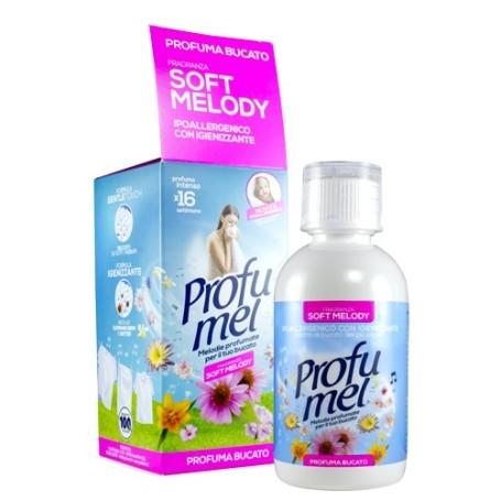SOFT MELODY PROFUMEL Profuma bucato con igienizzante ipoallergenico 250ml per lavatrice e asciugatrice PROFUMEL SOFT MELODY