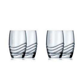 Set 4 bicchieri in vetro per gasatore SODASTREAM