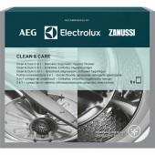 Decalcificante sgrassatore + lavatrice e lavastoviglie 6 buste CLEAN & CARE 902979918 ELECTROLUX