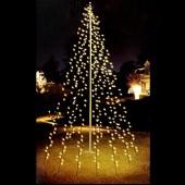 Albero stilizzato da giardino MT8 400LED luce calda NEDIS AX8-106130