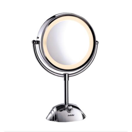 Specchio luminoso con ingranditore 8x diametro cm20,5 BABYLISS 8438E