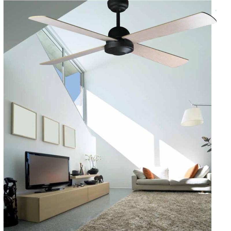 Ventilatore da soffitto  IBIZA senza luce 4 pale moderno